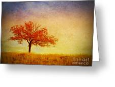 The Wednesday Tree Greeting Card