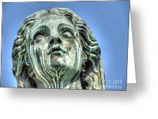 The Weeping Sculpture Greeting Card