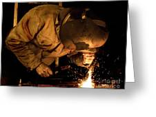 The Welder Greeting Card