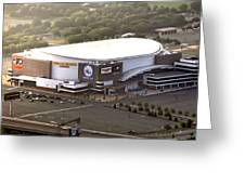 The Wells Fargo Center Greeting Card by Bill Cannon