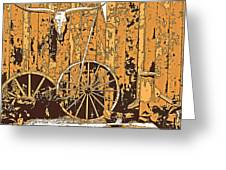 The West - Wall Art Greeting Card