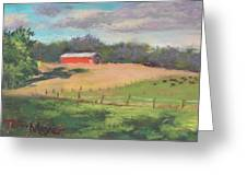 The West Cow Pasture Early Morning Greeting Card