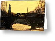 The Westertoren Amsterdam Greeting Card