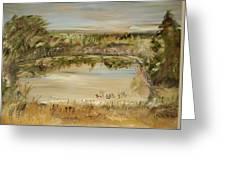 The Westfern Pond Greeting Card