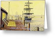 The Wharf Greeting Card