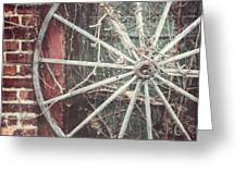 The Wheel And The Ivy Greeting Card