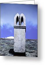 The White Chimney Greeting Card