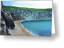 The White Cliffs Of Dover Greeting Card