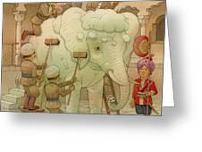 The White Elephant 02 Greeting Card