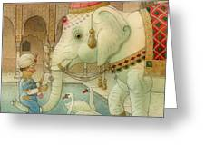 The White Elephant 07 Greeting Card