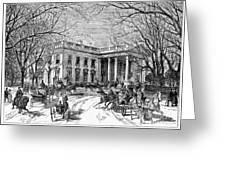 The White House, 1877 Greeting Card
