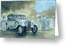 The White Tourer Greeting Card