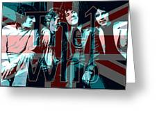 The Who Poster  Greeting Card