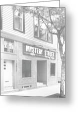 Mystery Daze Mystery Street Greeting Card