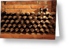 The Wine Cellar II Greeting Card