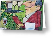 The Wine Steward Greeting Card