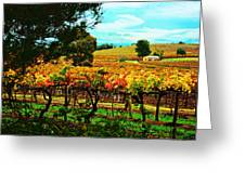The Winemakers Residence Greeting Card