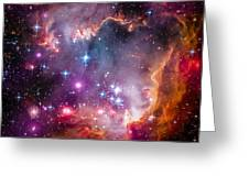 The Wing Of The Small Magellanic Cloud Greeting Card