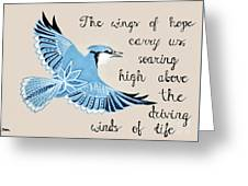 The Wings Of Hope Greeting Card