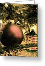 The Winter Holiday. Greeting Card