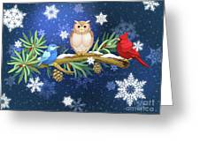 The Winter Watch Greeting Card