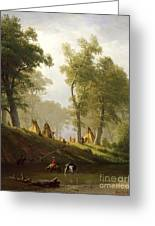 The Wolf River - Kansas Greeting Card