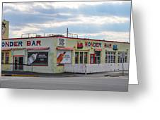 The Wonder Bar - Asbury Park New Jersey Greeting Card