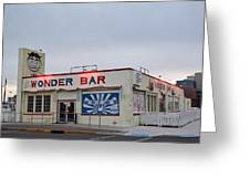 The Wonder Bar, Asbury Park Greeting Card