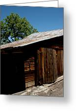 The Wood Shed Greeting Card