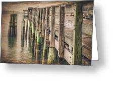 The Wooden Pier Greeting Card