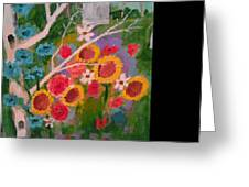 The World Of Flowers Greeting Card