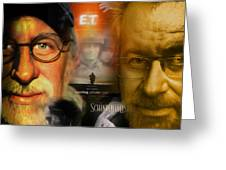 The World Of Steven Spielberg Greeting Card