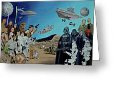 The World Of Star Wars Greeting Card