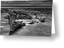 The Wreck Of The Steam Trawler Greeting Card