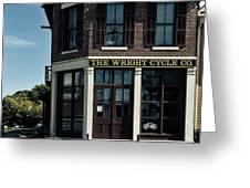 The Wright Cycle Company - Dayton Ohio Greeting Card