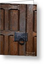 The Wrought Iron Handle Greeting Card