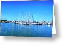 The Yacht Club Greeting Card