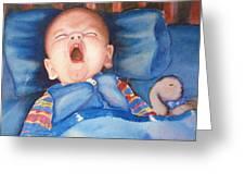 The Yawn Greeting Card