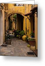 The Yellow Archway Greeting Card
