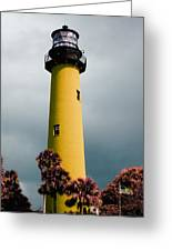 The Yellow Lighthouse Greeting Card