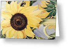 The Yellow  Greeting Card