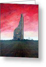 The Yellow Steeple Greeting Card