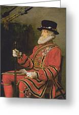The Yeoman Of The Guard Greeting Card