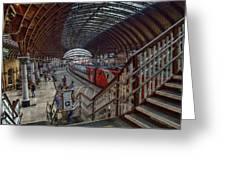 The York Train Station Greeting Card