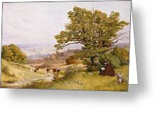 The Young Artist Greeting Card by Henry Key