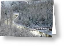 The Zen Of Bridge 5 Greeting Card