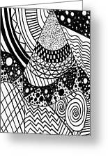 The Zendoodle Desert Greeting Card
