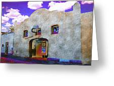 Theater Night Mesilla Greeting Card