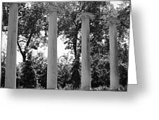 Theatre Columns Greeting Card