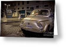 The Fiat 500 Greeting Card